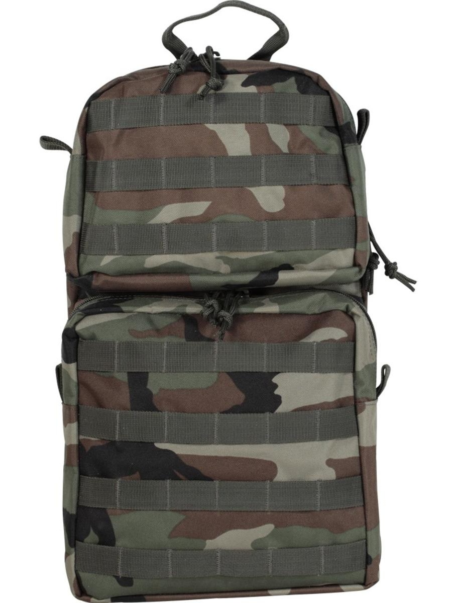 Voodoo Tactical MOLLE Merced Two-Pocket Tactical Hydration Pack by Voodoo Tactical