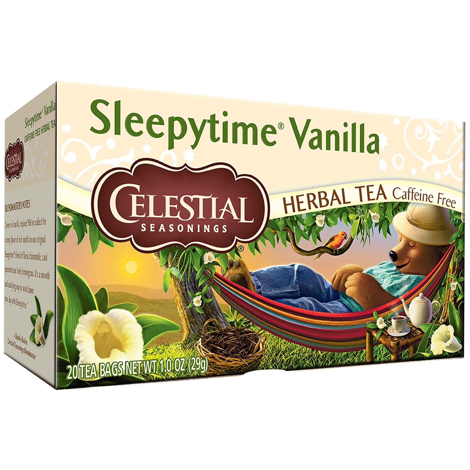 Celestial Seasonings® Sleepytime® Vanilla Herbal Tea Bags 20 ct Box