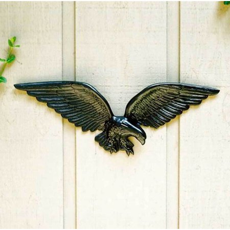 Black Finished American Eagle Wall -