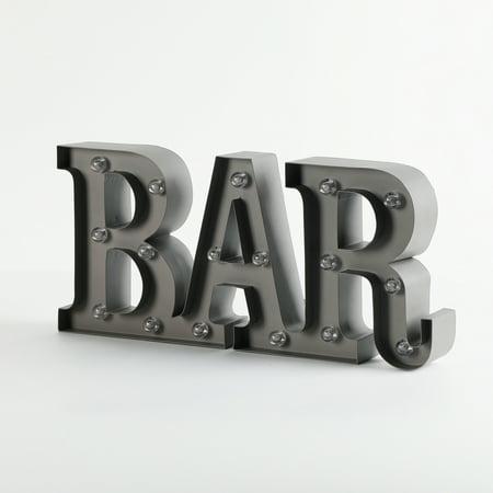 Bar Marquee Sign (Marquee Rhinestone)