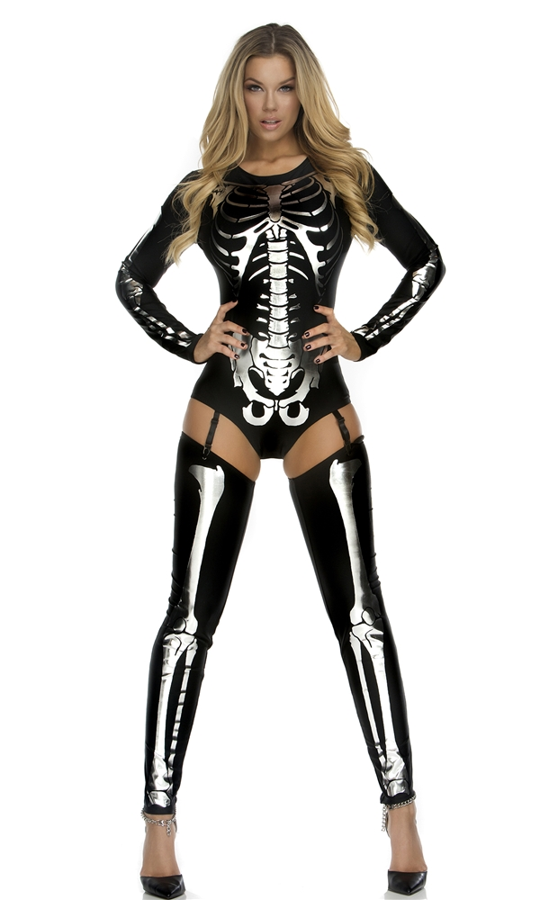01264041292df Womens Skeleton Halloween Costume & Halloween Costume Ideas For A ...