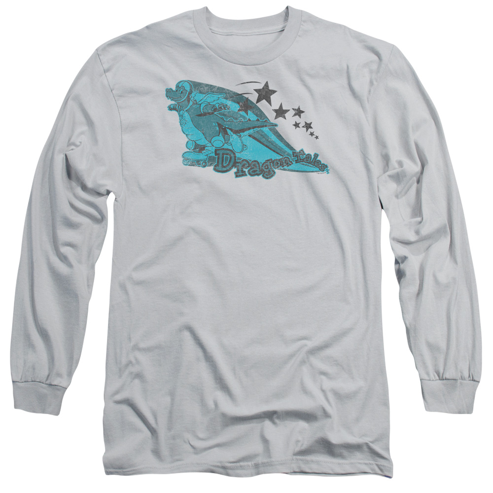 Dragon Tales Ord Skates Mens Long Sleeve Shirt
