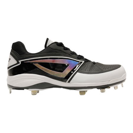Men's 3N2 Lo-Pro Baseball Cleat Sport a look that is as dynamic as your game. With its ShimmerStep iridescent logo mark, the 3N2 Lo-Pro Baseball Cleat makes an undeniable impact on the diamond. As lighting conditions and angles change, so does the color of the ShimmerStep material. A proprietary nine-spike configuration with optimized cleat placement Variable cleat lengths that enhance lateral quickness and enable explosive acceleration Comfortable thanks to a full-length EVA midsole that supports and cushions the forefoot, minimizing cleat pressure points The toe is shielded against wear with a rugged TPU bumper and film for extra protection Upper and heel construction provide lightweight support and a comfortable fit A pro cleat that feels like a running shoe.