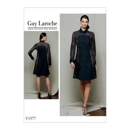 805e0198d Vogue Patterns Sewing Pattern Misses'/Misses' Petite Dress-6-8-10-12-14 -  Walmart.com