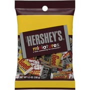 Hershey's, Miniatures Chocolate Assortment Candy, 5.3 Oz