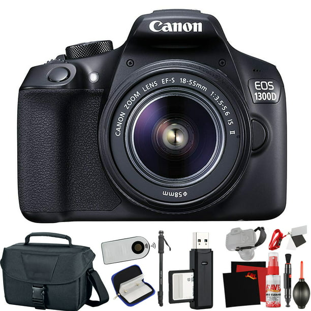 Canon EOS 1300D / Rebel T6 DSLR Camera with Extra Accessory Bundle