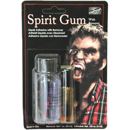 Spirit Gum and Remover Adult Halloween Accessory (Spirit Halloween Veterans)