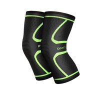 a7c4c280ae Product Image Knee Compression Sleeve (1 Pair) - Instant Knee Support Brace  for Running, Sports
