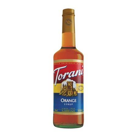Torani Orange Dairy Friendly Syrup - Orange Syrup