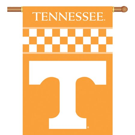 Bsi Products  Inc Tennessee Volunteers 2 Sided 28   X 40   Banner W  Pole Sleeve   Collegiate   College   Ncaa Licensed  96101