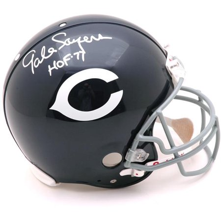 Gale Sayers Chicago Bears Autographed Riddell Pro Line Authentic Helmet with HOF Inscription - Fanatics Authentic Certified