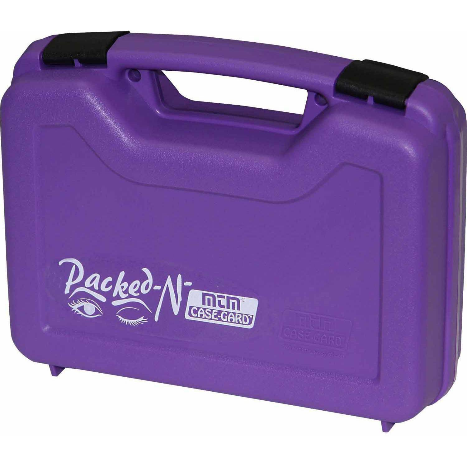 HANDGUN CASE SINGLE UP TO 4 REVOLVER PURPLE