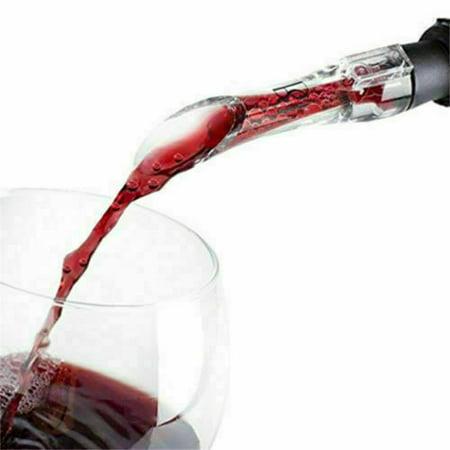 KABOER Red Wine Bottle Aerator Decanter Aerating Pourer Spout Enhancer Bar  Unique Hot (Aficionado Wine Aerating Decanter)