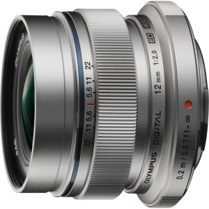 Olympus M.ZUIKO DIGITAL 12mm f/2 Wide Angle Lens for Micro Four (Best Olympus Wide Angles)