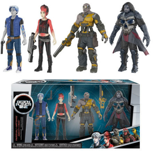 FUNKO ACTION FIGURE: Ready Player One - 4PK