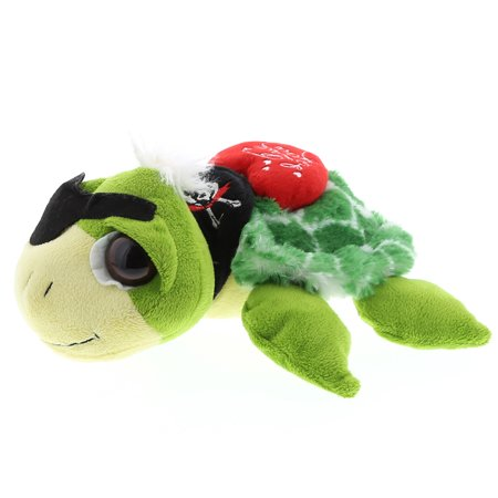 Super Soft Plush Dollibu Green Pirate Turtle I Love You Shirt Valentines Plush (Pirate Stuff)