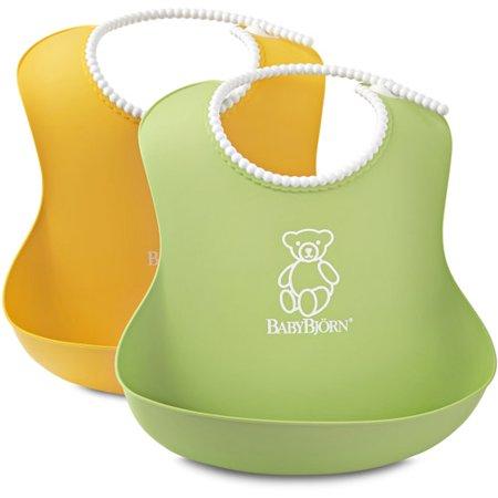BabyBjorn Soft Bib, 2-Pack