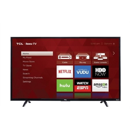 TCL P 49FP110 49″ 1080p LED-LCD TV – 16:9 – Black – 1920 x 1080 – Dolby Digital Plus – 8 W RMS – LED – Smart TV – 3 x HDMI – USB – Wireless LAN – PC Streaming – Internet Access