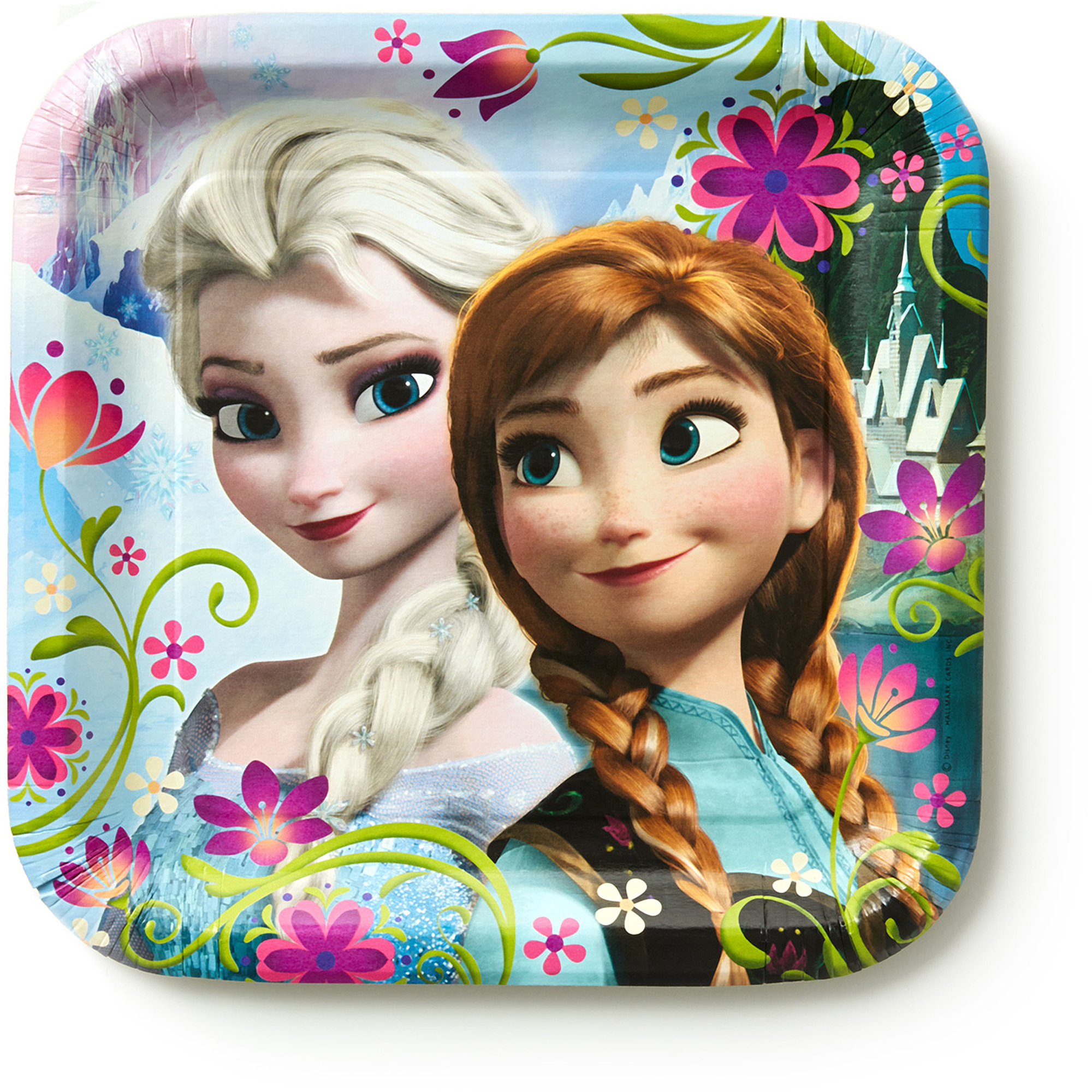 sc 1 st  Walmart & Hallmark Party Disney Frozen Dinner Plates - Walmart.com