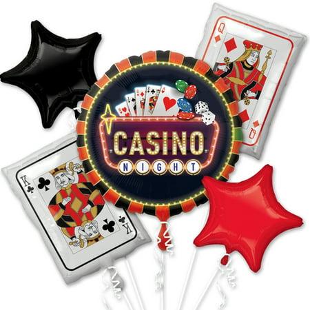 Casino Balloon Bouquet - Casino Balloons