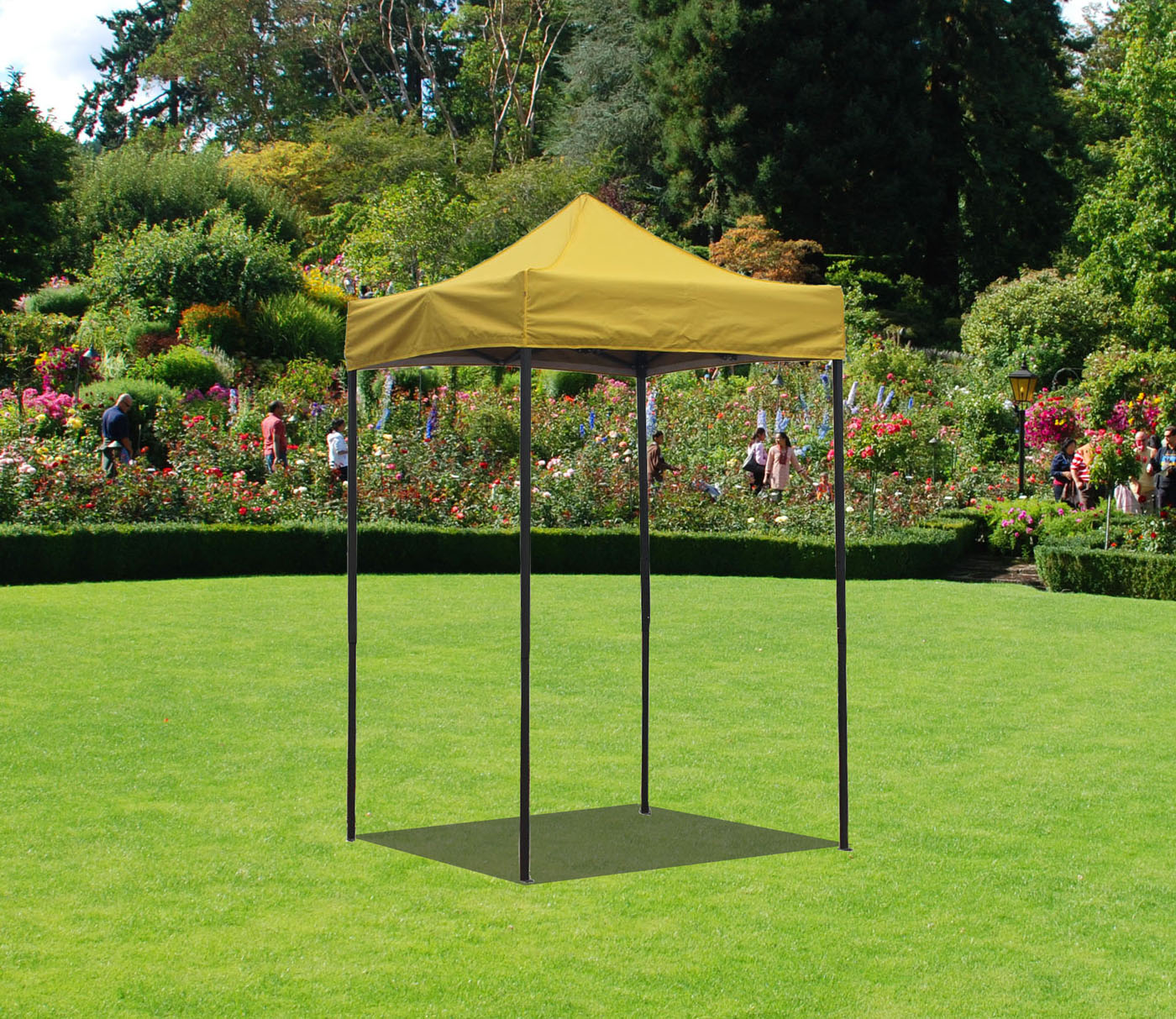 Canopy Tent 5 x 5 Commercial Fair Shelter Car Shelter Wedding Party Easy Pop Up by