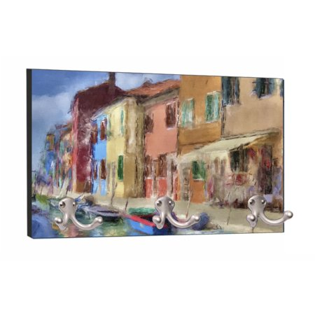 Mountable Hanger - Watercolor Venice Painting - 8