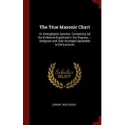 The True Masonic Chart : Or Hieroglyphic Monitor: Containing All the Emblems Explained in the Degrees ... Designed and Duly Arranged Agreeably to the Lectures