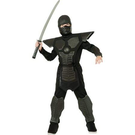 Black Ninja Costume Child