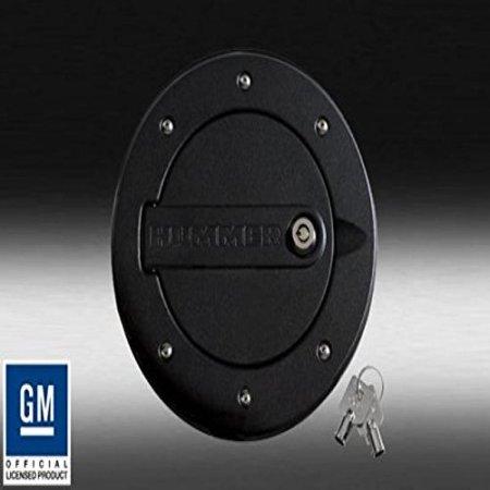 Defenderworx H3ppb08060 Black Locking Fuel Door For Hummer