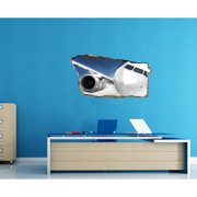 Startonight 3D Mural Wall Art Photo Decor Window Plane in my Room Amazing Dual View Surprise Medium Wall Mural Wallpaper for Bedroom Planes Collection Wall Paper Art 32.28 inch By 59.06 inch