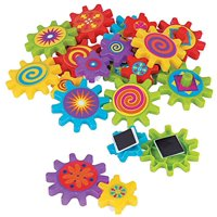 Magnetic Spinning Gears - Toys - 22 Pieces