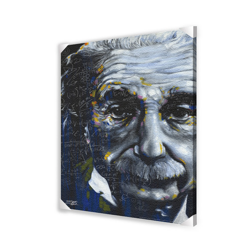 Pyramid America Einstein It's All Relative Graphic Art on Wrapped Canvas