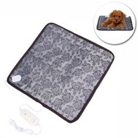 Product Image Pet Bed Heating Pad Temperature Control Soft Dog Cat Bunny Kitty Heater Mat Warm Mate Blanket