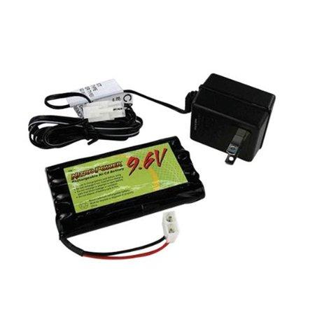 Dantona Cellular Battery - Dantona R96K 9.6V Radio Control Battery with Charger