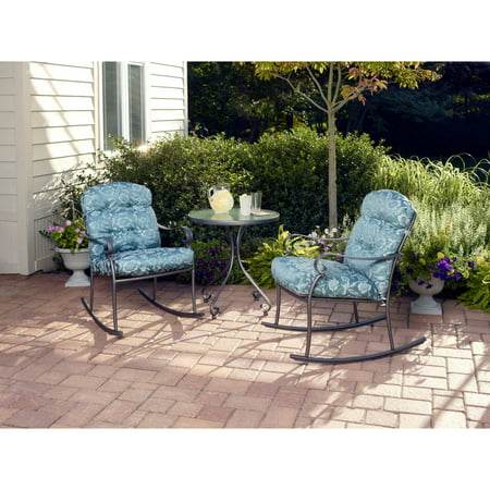 Mainstays Willow Springs 3-Piece Rocking Outdoor Bistro Set ... on spring green ideas, spring office ideas, spring picnic ideas, spring porch ideas, spring vacation ideas, spring family ideas, spring cleaning ideas, spring business ideas, spring wall ideas, spring diy ideas, spring photography ideas, spring car ideas, spring food ideas, spring summer ideas, spring fence ideas, spring windows ideas, spring spa ideas, spring painting ideas, spring garden ideas, spring flowers ideas,