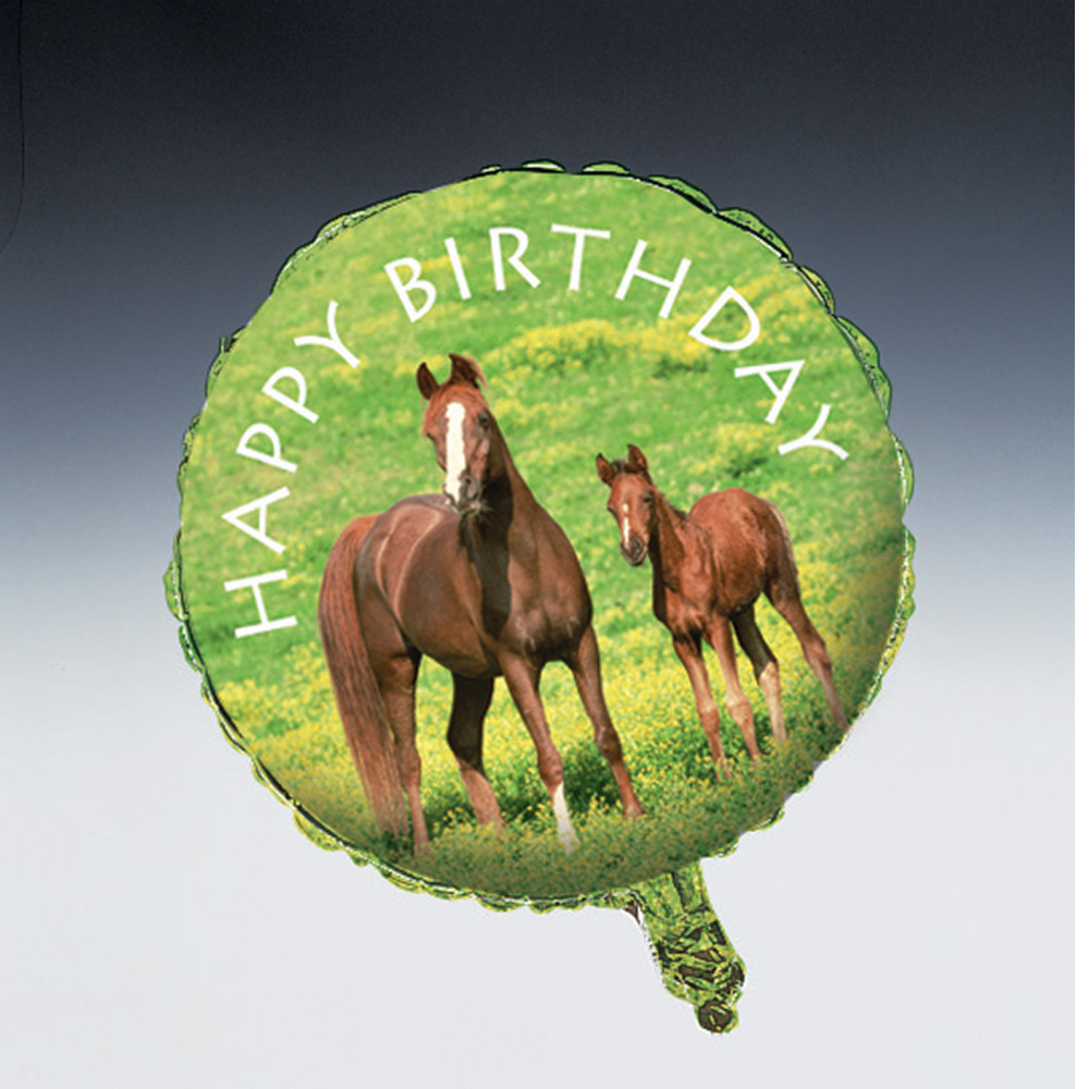 "Pony 18"" Balloon (Each) - Party Supplies"