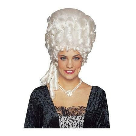 Adult's Marie Antoinette White Wig