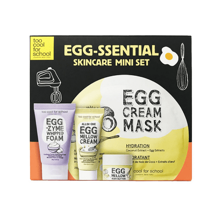 Too Cool For School Egg Ssential Skincare Mini (Too Cool For School Glossy Blaster Tint)