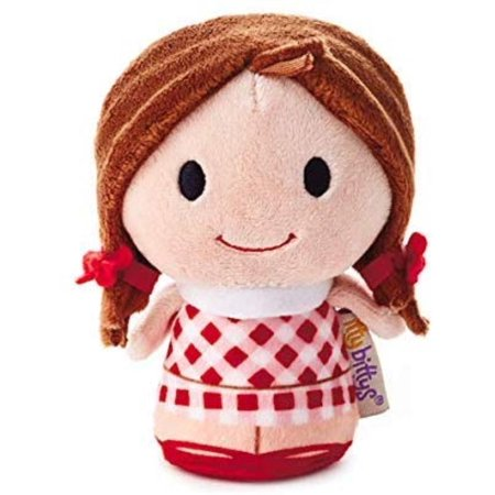 HMK Hallmark 1KDD1611 itty bittys Rudolph The Red-Nosed Reindeer, Dolly Misfit Doll Stuffed Animal By Hallmark