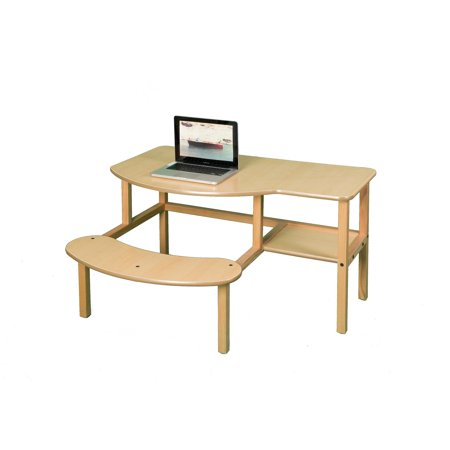 Grade School Buddy Computer Desk - maple/tan - image 1 de 2