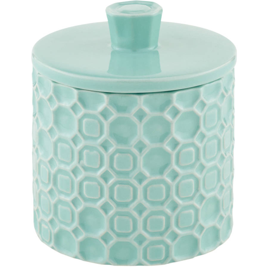 Mainstays Groovy Medallion Covered Jar