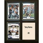 C&I Collectables NFL 8x10 Tony Romo Dallas Cowboys 3-Card Plaque