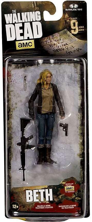 McFarlane Walking Dead Series 9 Beth Greene Action Figure