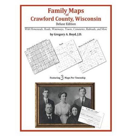 Family maps of crawford county, wisconsin: 9781420315486
