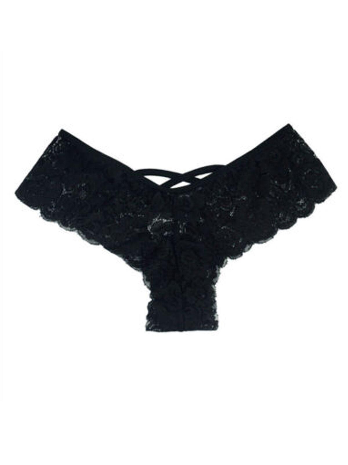 2x Women Ladies Lace Underwear G-string Briefs Panties Thongs Lingerie Knickers