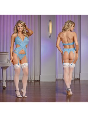 96698cc0f46 Product Image Magic Silk Sky Wrap Merry Widow   Thong Set