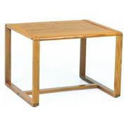 Corner Table w Sled Base - Contour (Black)