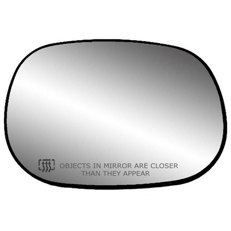 30016 - Fit System Passenger Side Heated Mirror Glass w/ backing plate, Dodge Dakota Pick-Up 97-00, Durango 98-03, Full Size Van 94-03, Pick-Up 98-02, 6 5/8