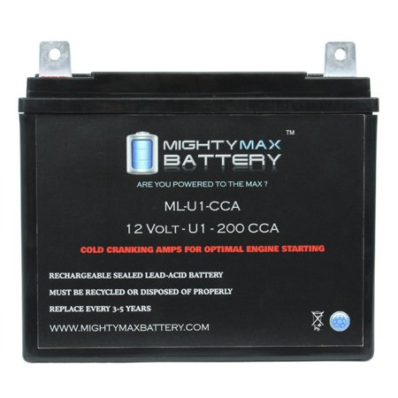 Ml U1 12v 200cca Battery For Cub Cadet 128 Lawn Tractor