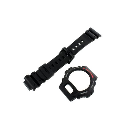 Solid Black G Shock DW6900 Watch Replacement 10